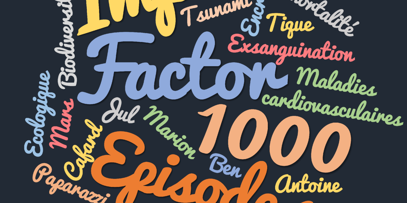Impact factor 1000 : Episode 1